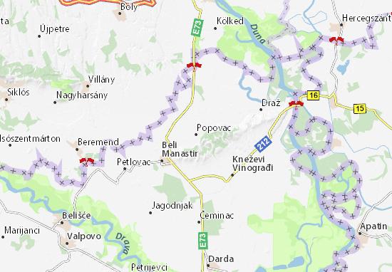 Carte-Plan Popovac