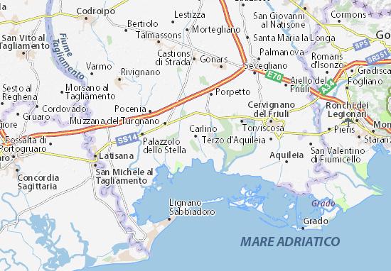 Carlino Map
