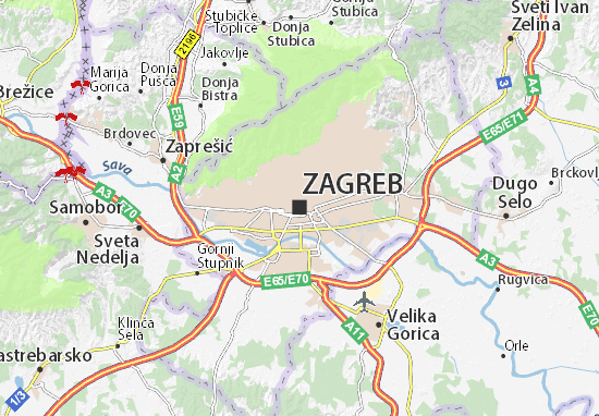 Map of zagreb michelin zagreb map viamichelin are you looking for the map of zagreb find any address on the map of zagreb or calculate your itinerary to and from zagreb find all the tourist altavistaventures Choice Image