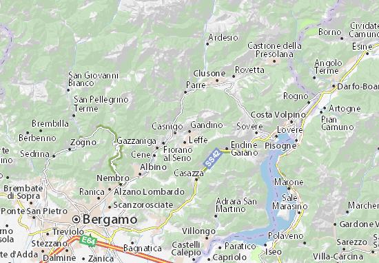 Mappe-Piantine Gandino