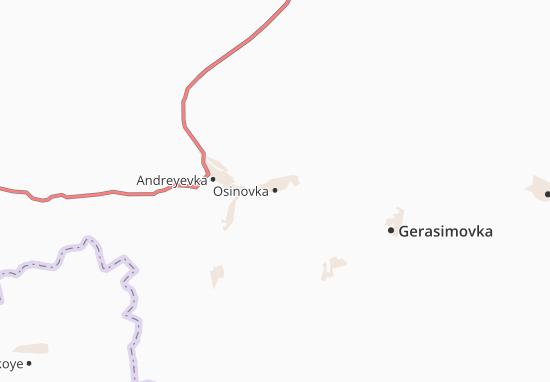 Carte-Plan Osinovka