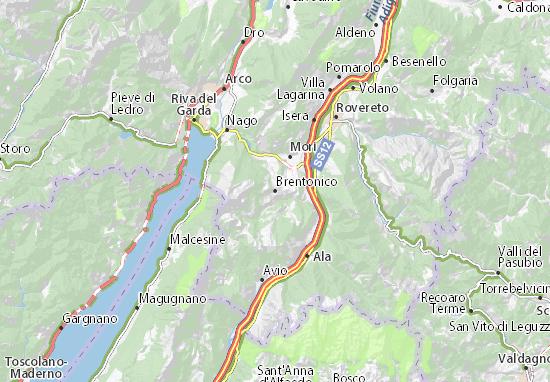 Brentonico Map