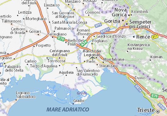 Mapa Plano Turriaco
