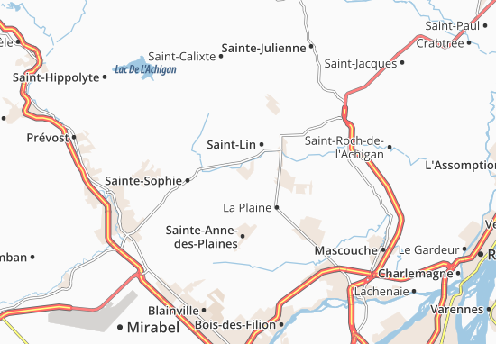 Domaine-C.-L.-C. Map