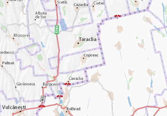 Mapa Plano Copceac