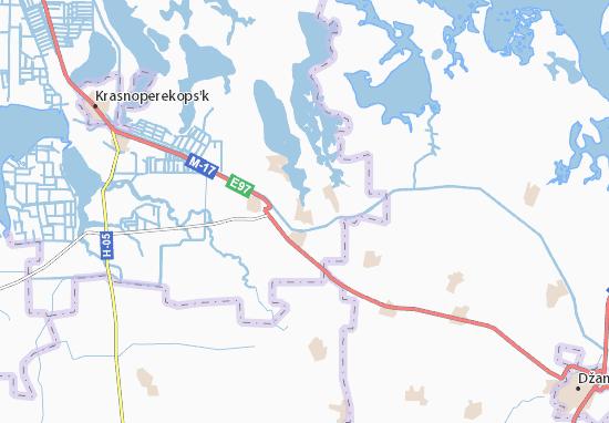 Mahazynka Map
