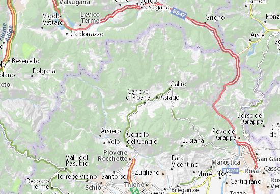 Roana Map