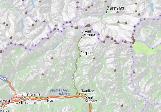 Mappe-Piantine Valtournenche