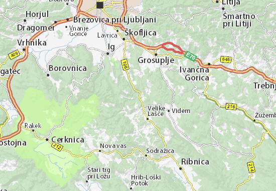 Turjak Map