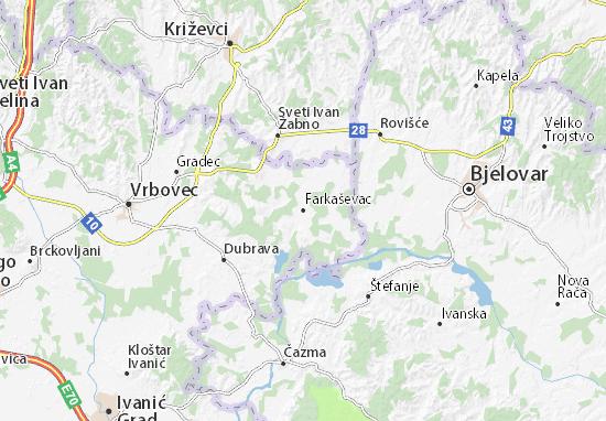 Mapas-Planos Farkaševac