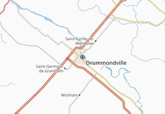 Drummondville Map