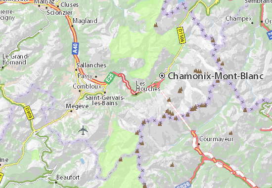 Les Houches Map