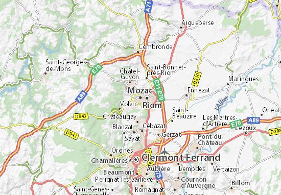 Mozac Map