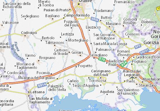 Gonars Map