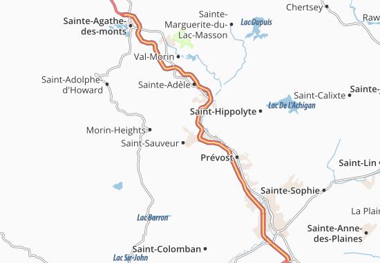 Saint-Sauveur Map