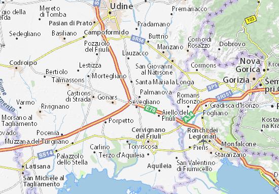 Carte-Plan Palmanova