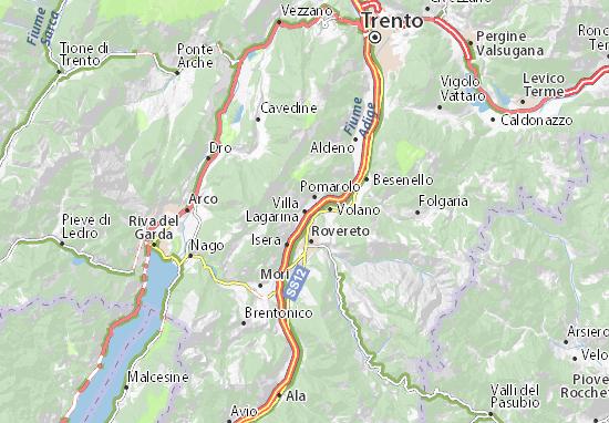 Mappe-Piantine Villa Lagarina