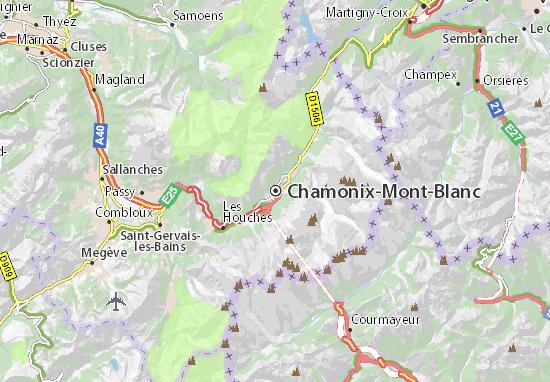 Carte-Plan Chamonix-Mont-Blanc