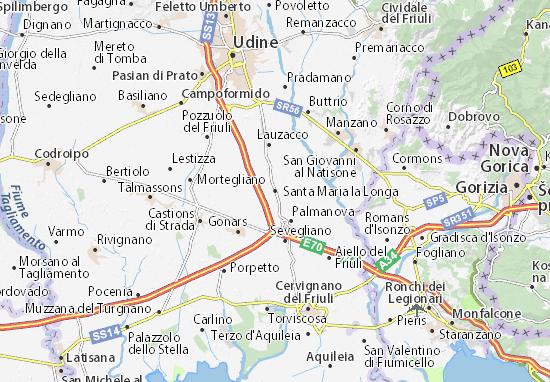 Mapas-Planos Santa Maria la Longa