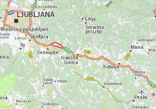 Mapas-Planos Ivančna Gorica
