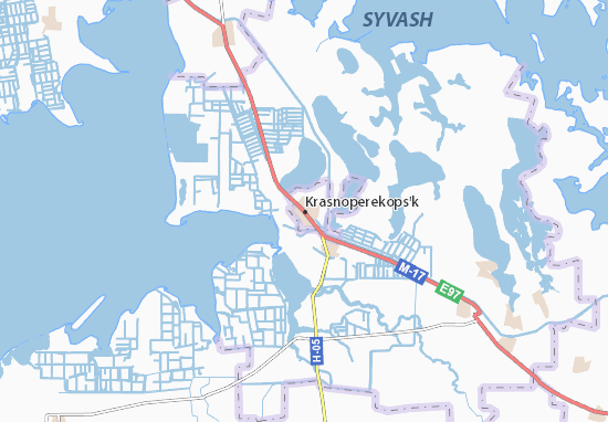 Krasnoperekops'k Map