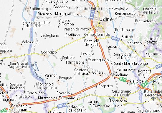 Mappe-Piantine Lestizza