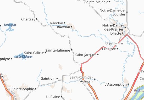 Mappe-Piantine Sainte-Julienne