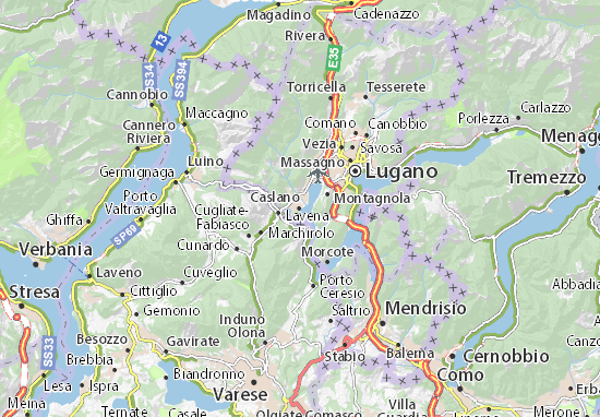 Mappe-Piantine Caslano