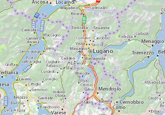 Mappe-Piantine Montagnola