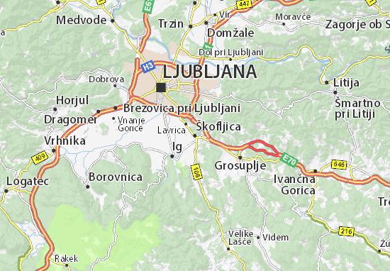 Mappe-Piantine Škofljica