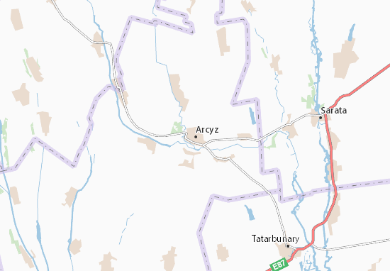 Mapa Plano Arcyz