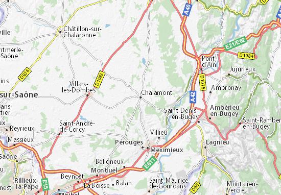 Mappe-Piantine Chalamont