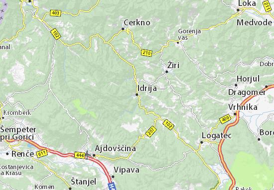 Mappe-Piantine Idrija