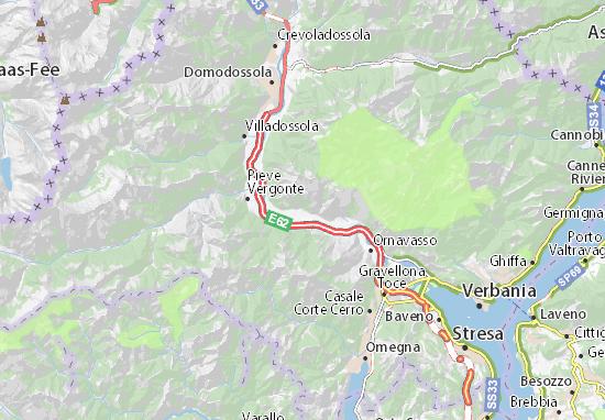 Mappe-Piantine Premosello-Chiovenda