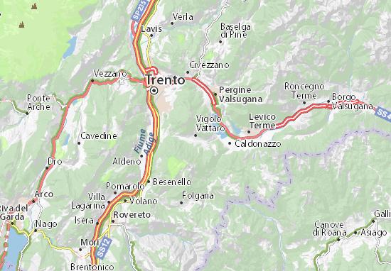 Mappe-Piantine Vigolo Vattaro