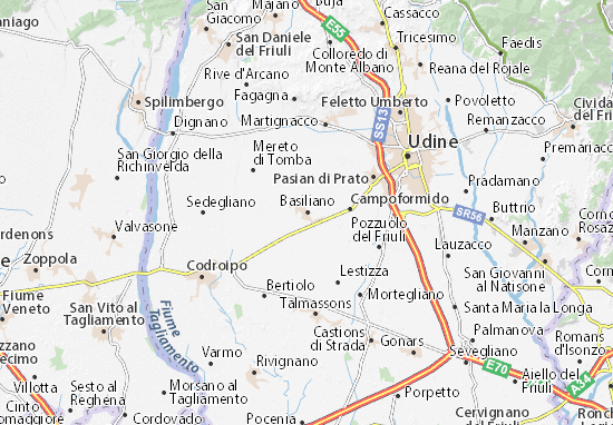 Mappe-Piantine Basiliano