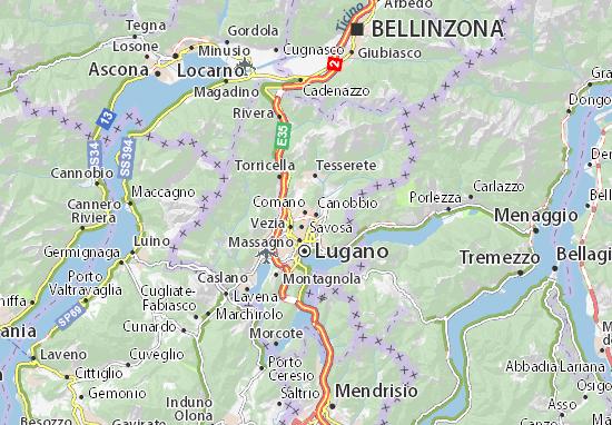 Mappe-Piantine Comano