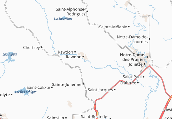 Rawdon Map
