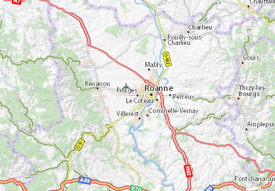Mapa Plano Riorges