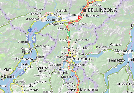 Bedano Map: Detailed maps for the city of Bedano - ViaMichelin