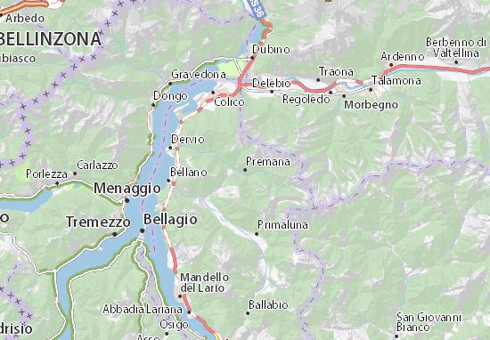 Mappe-Piantine Premana