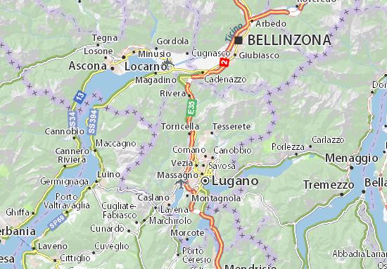 Cartina Svizzera Lugano.Mappa Michelin Taverne Pinatina Di Taverne Viamichelin