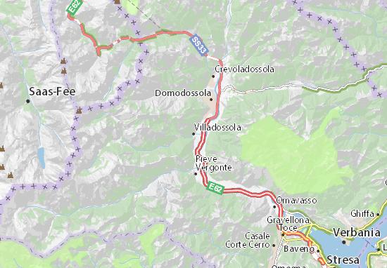 Villadossola Map