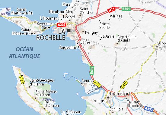 Châtelaillon-Plage Map