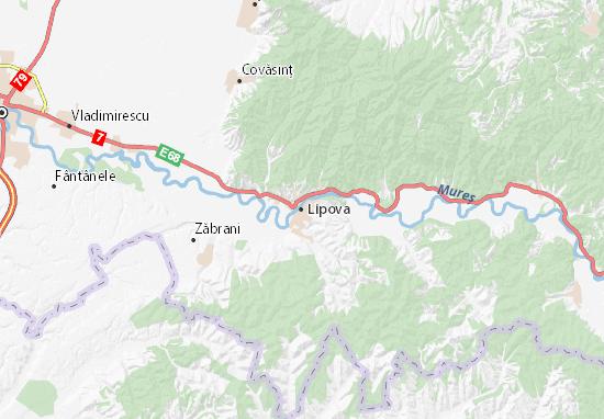Lipova Map