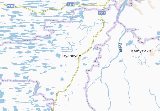 Kaart Plattegrond Ikryanoye