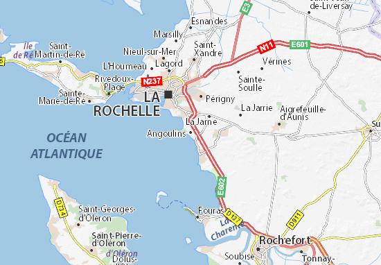 Angoulins Map