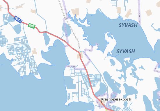 Mapa Plano Armyans'k