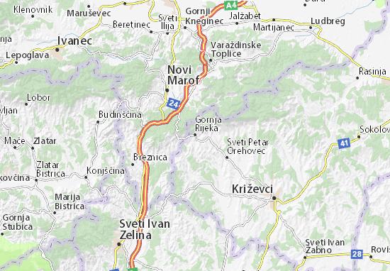Mapas-Planos Gornja Rijeka