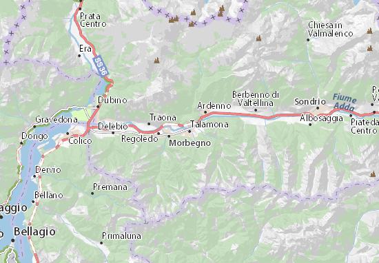 Mappe-Piantine Talamona